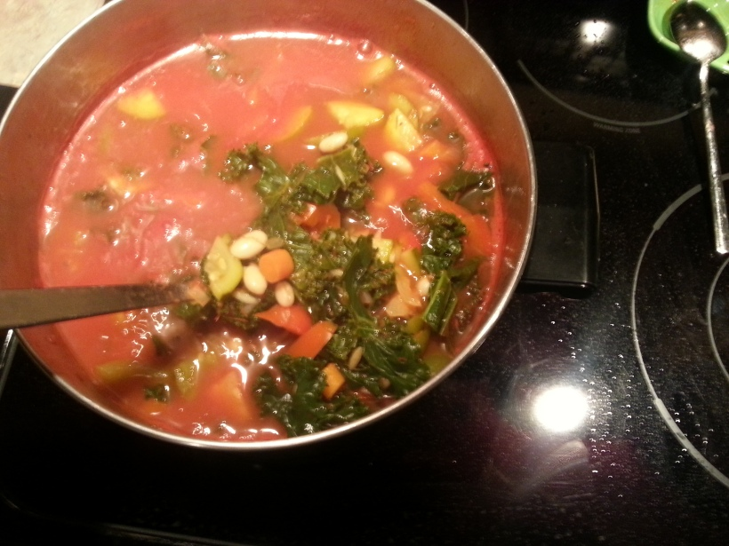 W Veg Soup